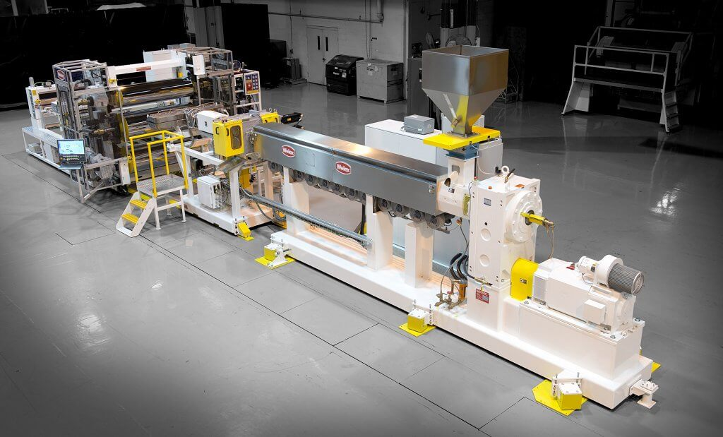 image of an extrusion machine that graham engineering services