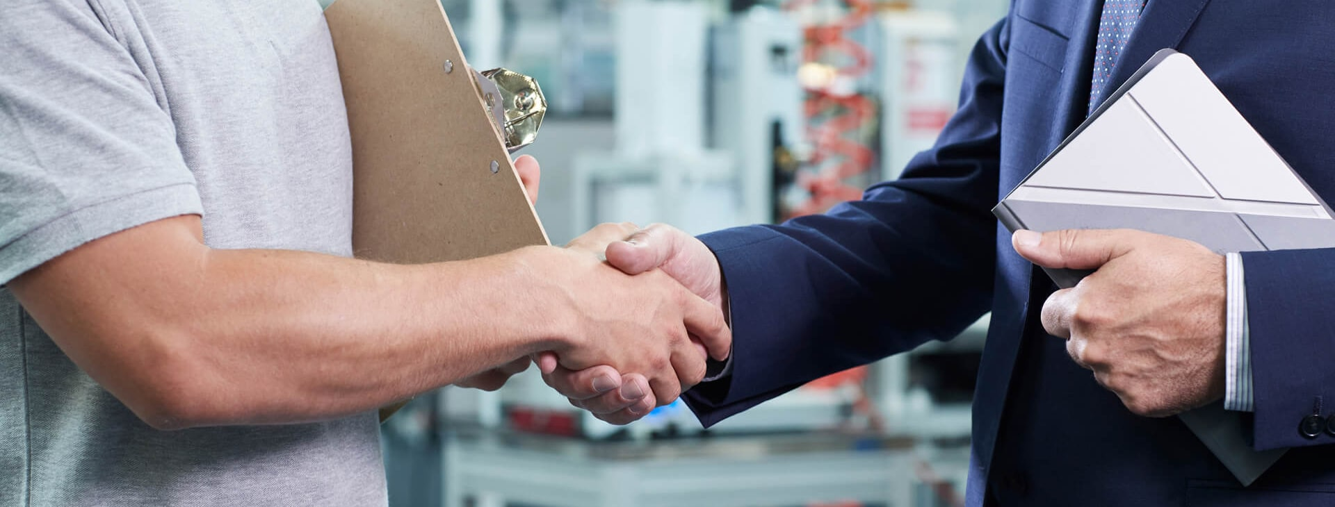 Showing approach of two men shaking hands for graham approach page