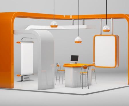 Kitchen design showing graphics market applications