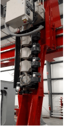 vertical extruder from American Kuhne